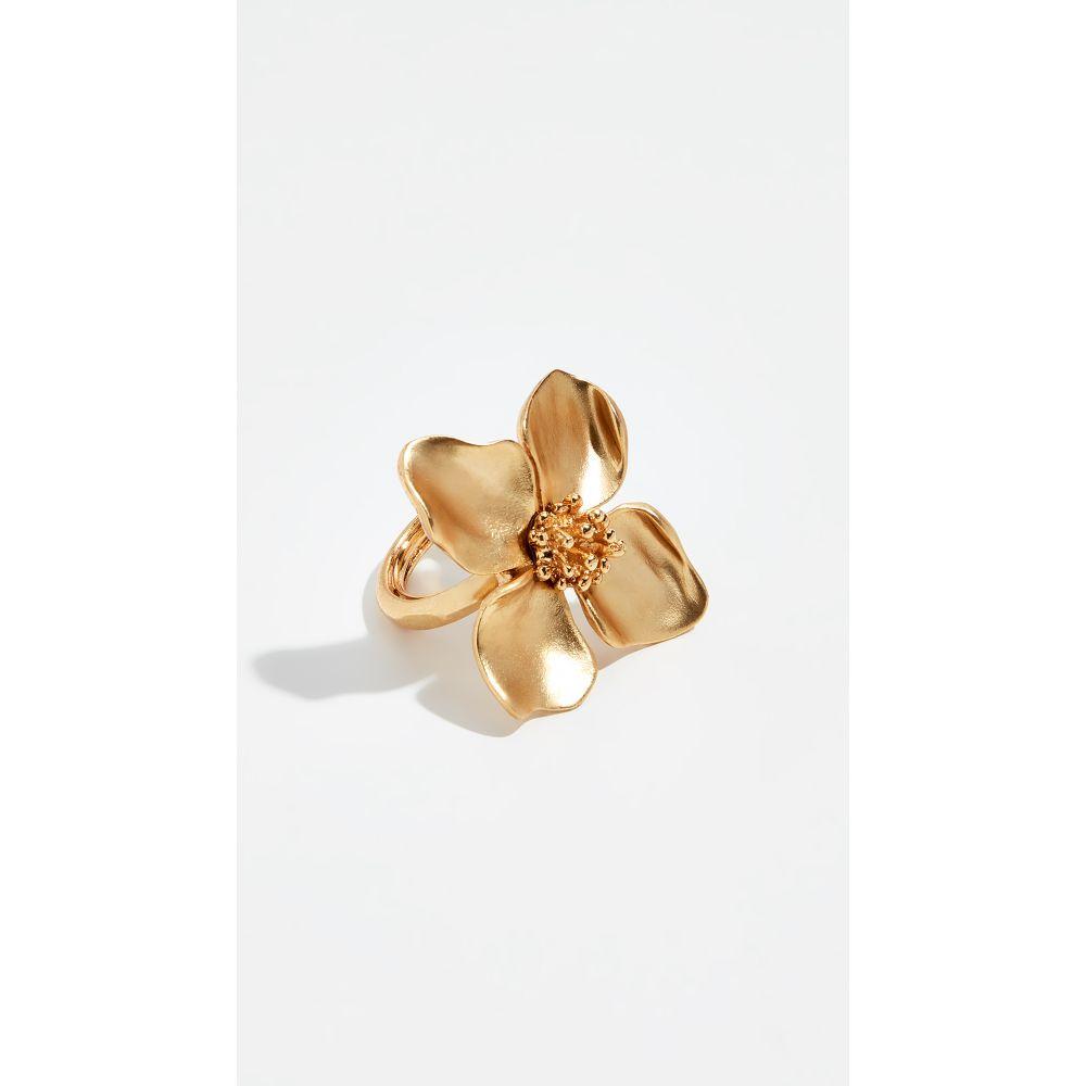オスカー デ ラ レンタ Oscar de la Renta レディース ジュエリー・アクセサリー 指輪・リング【Flower Ring】Gold