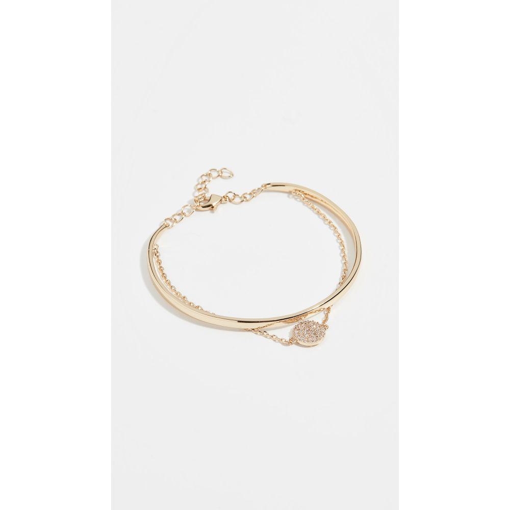 シャシ Shashi レディース ジュエリー・アクセサリー ブレスレット【Sparkly Sky Bracelet】Gold