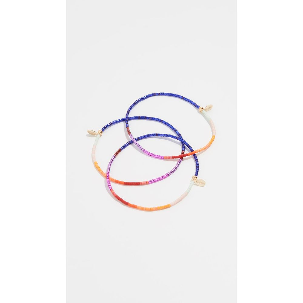 シャシ Shashi レディース ジュエリー・アクセサリー ブレスレット【The Gang Bracelet Set of 3】Ravers