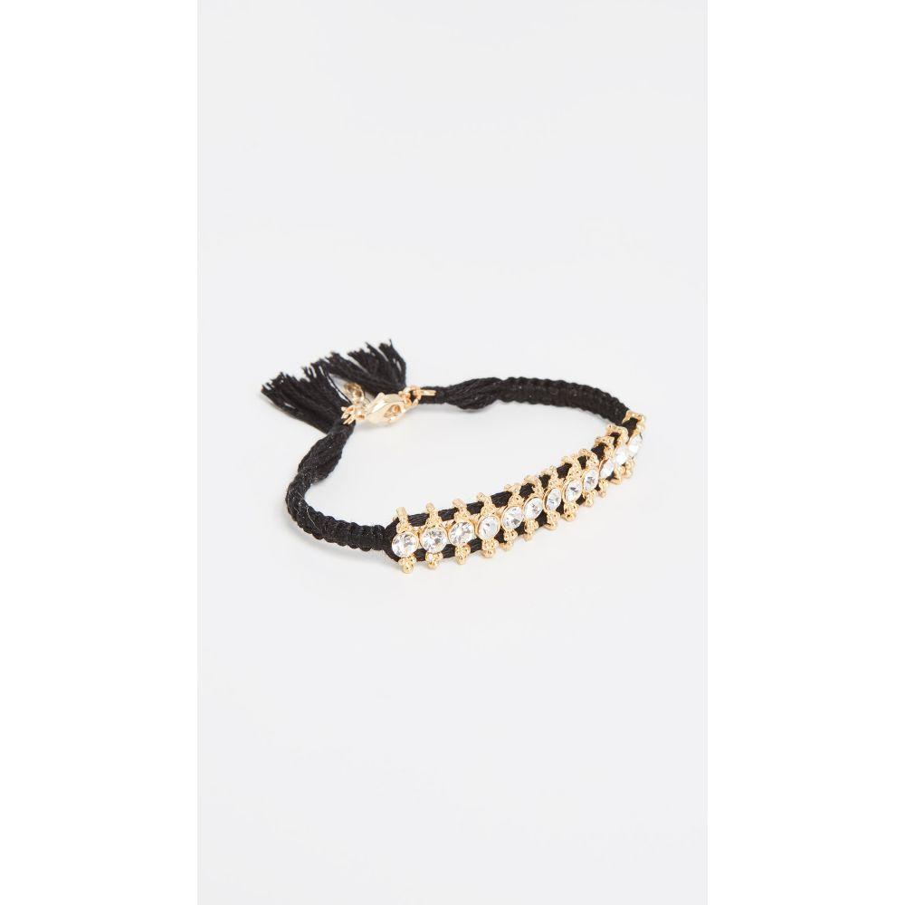 シャシ Shashi レディース ジュエリー・アクセサリー ブレスレット【Ballerina Bracelet】Black