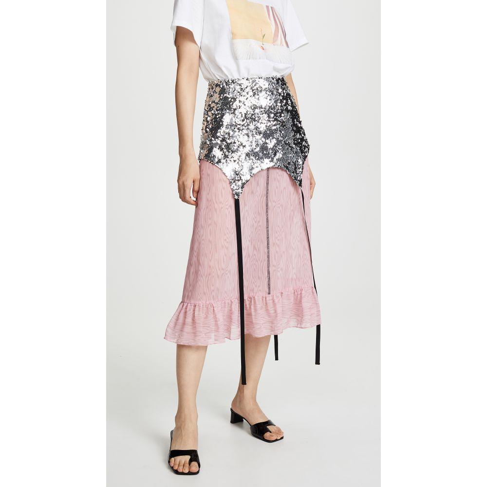サンディー リアン Sandy Liang レディース スカート ひざ丈スカート【Roid Skirt】Sequins/Pink Plywood