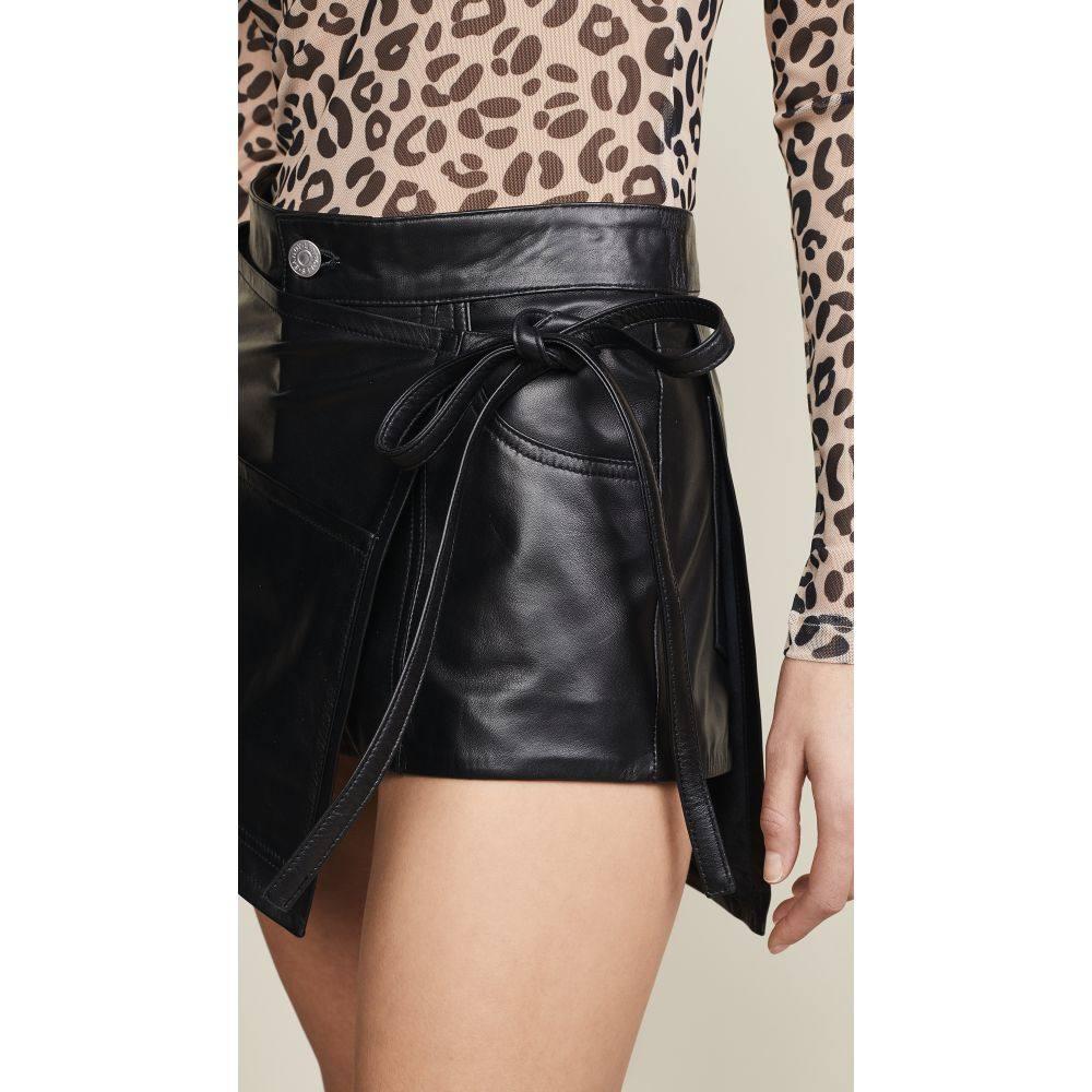 サンディー リアン Sandy Liang レディース スカート【Leather Perry Skirt】Black