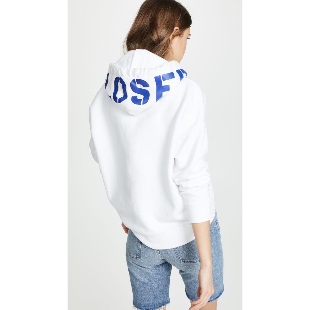 クローズド Closed レディース トップス スウェット・トレーナー【Pullover Sweatshirt】White