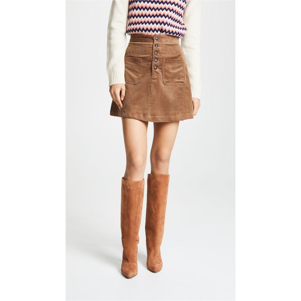 ロストアンドワンダー Lost + Wander レディース スカート ミニスカート【Alicia Mini Skirt】Mocha