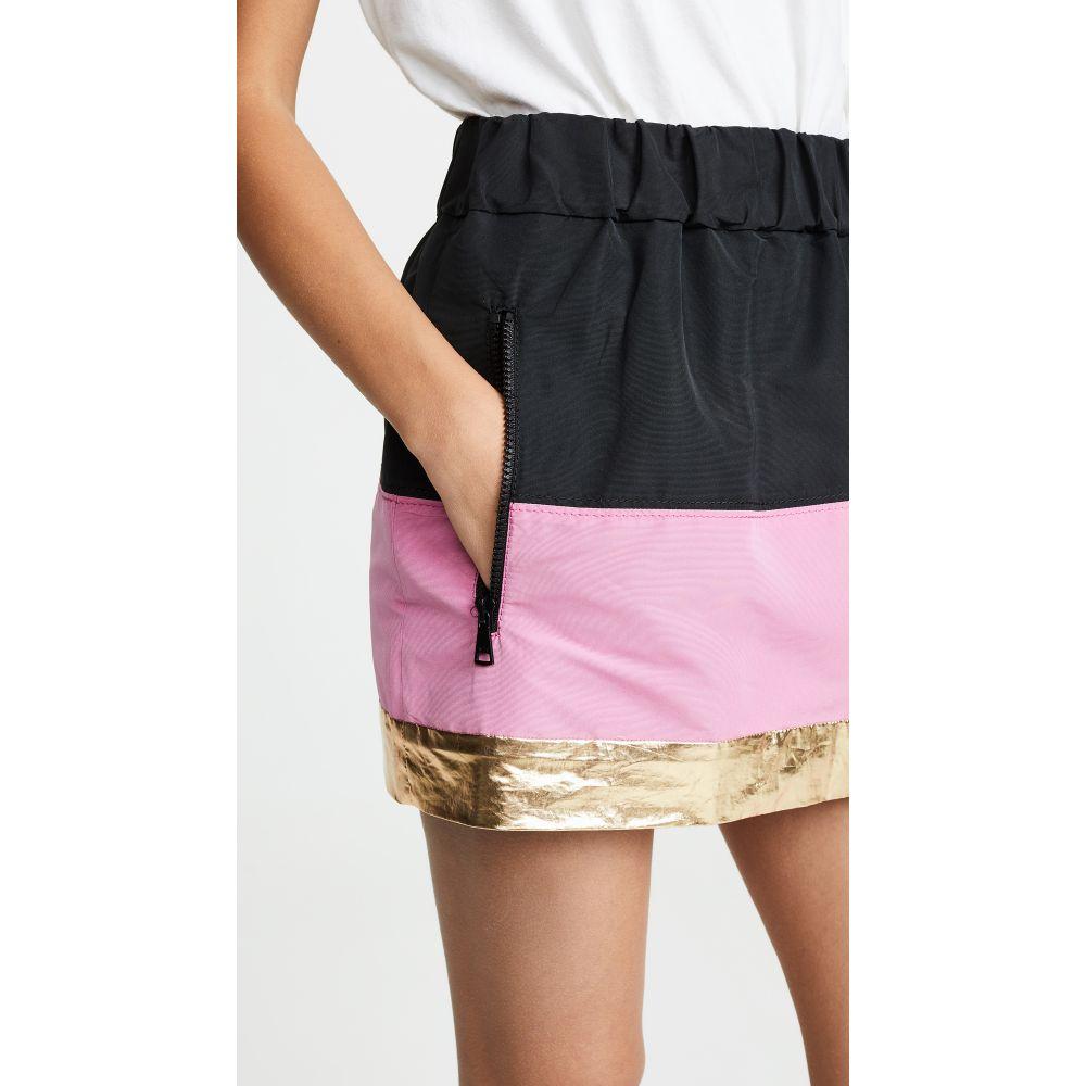 ヌメロ ヴェントゥーノ No. 21 レディース スカート ミニスカート【Two Tone Miniskirt】Pink/Black