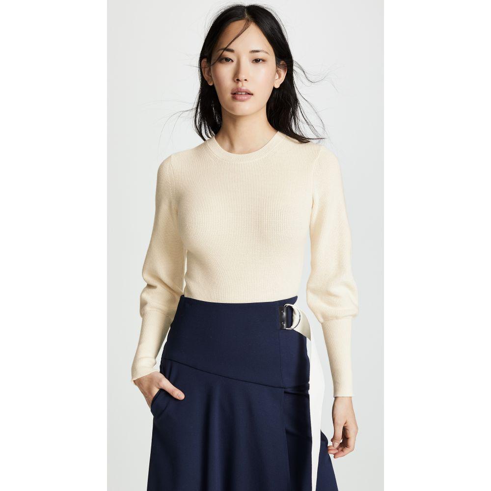 セオリー Theory レディース トップス ニット・セーター【Blouson Sleeve Sweater】Ivory
