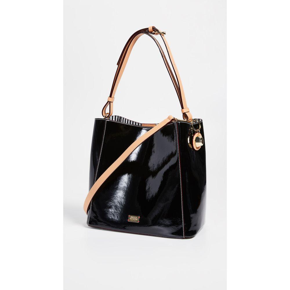 フランシス ヴァレンタイン Frances Valentine レディース バッグ ショルダーバッグ【Soft Patent Medium June Hobo Bag】Black