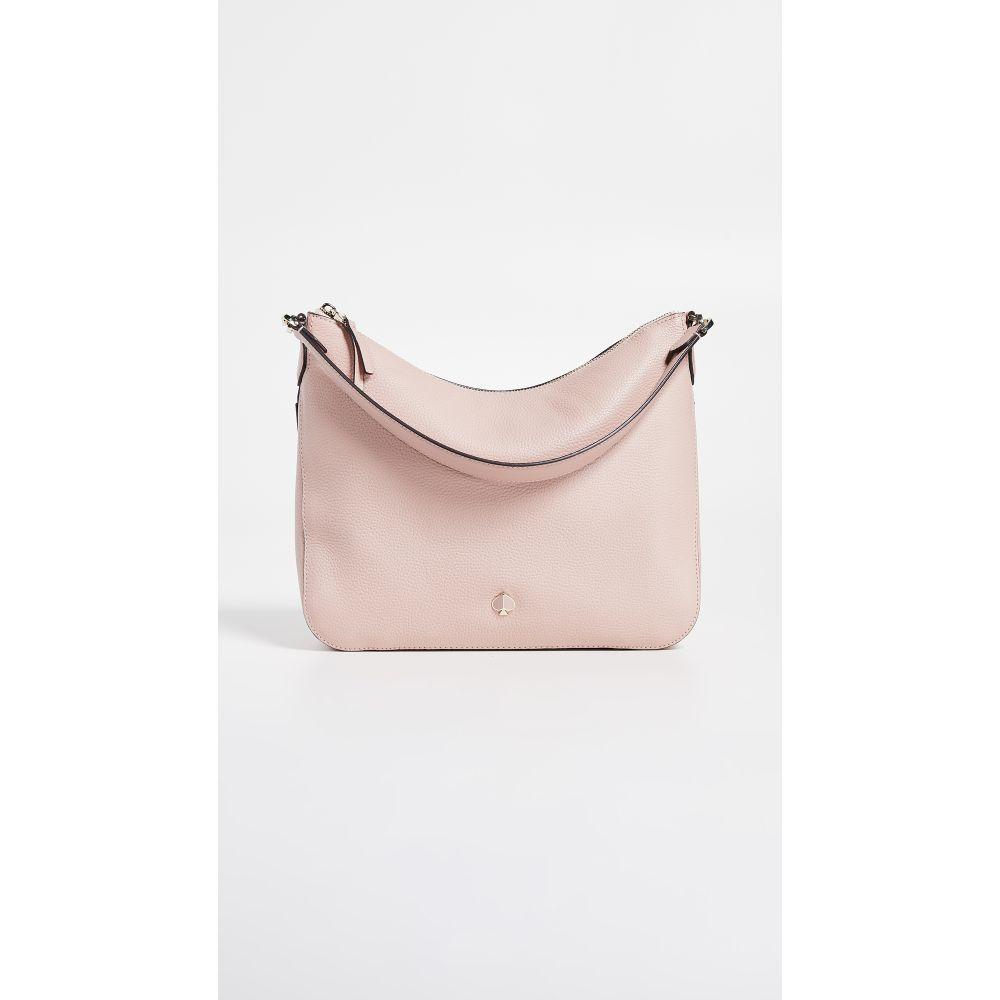 ケイト Shoulder Kate ショルダーバッグ【Polly Pink バッグ Spade Bag】Flapper York Medium スペード レディース New