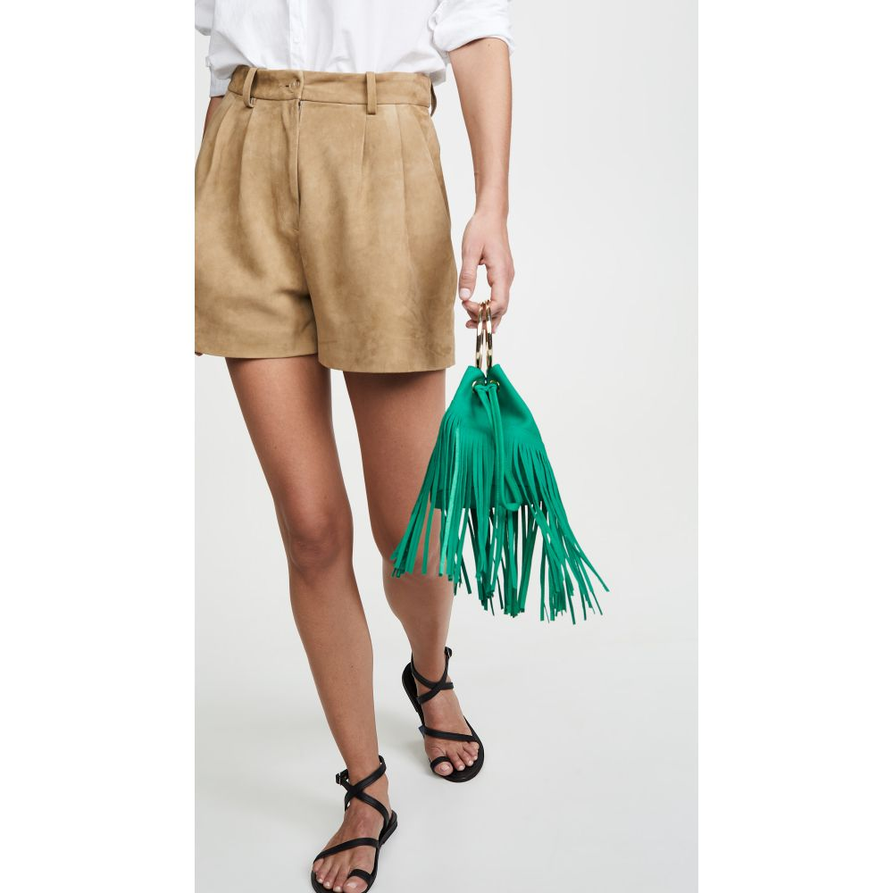 メゾン ボワネ Maison Boinet レディース バッグ【Small Fringe Bucket Bag】Aloe Vera
