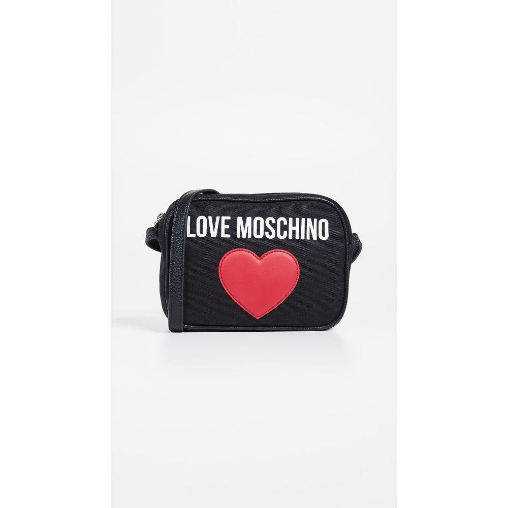 モスキーノ Moschino レディース バッグ【Love Camera Bag】Black