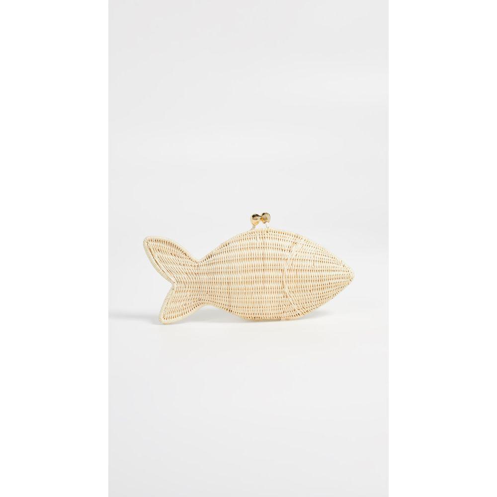 セルプイマリー Serpui Marie セルプイマリー レディース Marie レディース バッグ クラッチバッグ【Fish Clutch】Natural, あかり電材:10bddcef --- sunward.msk.ru
