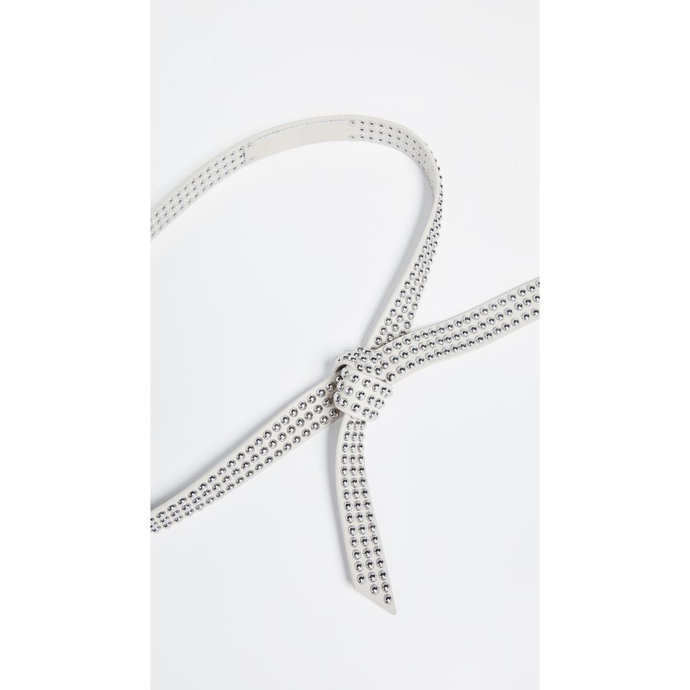 ビーローザベルト B-Low The Belt レディース ベルト【Bondi Mini Studded Belt】Bone/Silver