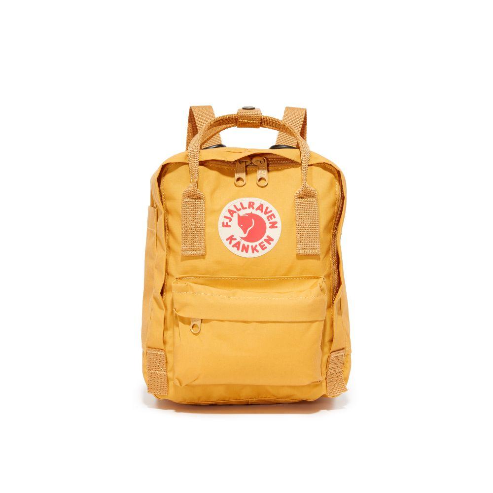 フェールラーベン Fjallraven レディース バッグ バックパック・リュック【Kanken Mini Backpack】Ochre