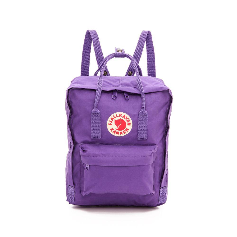 フェールラーベン Fjallraven レディース バッグ バックパック・リュック【Kanken Backpack】Purple