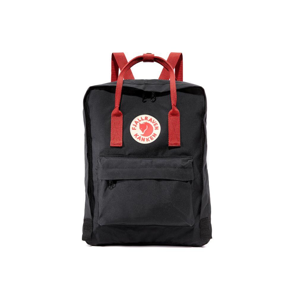 フェールラーベン Fjallraven レディース バッグ バックパック・リュック【Kanken Backpack】Black/Ox Red