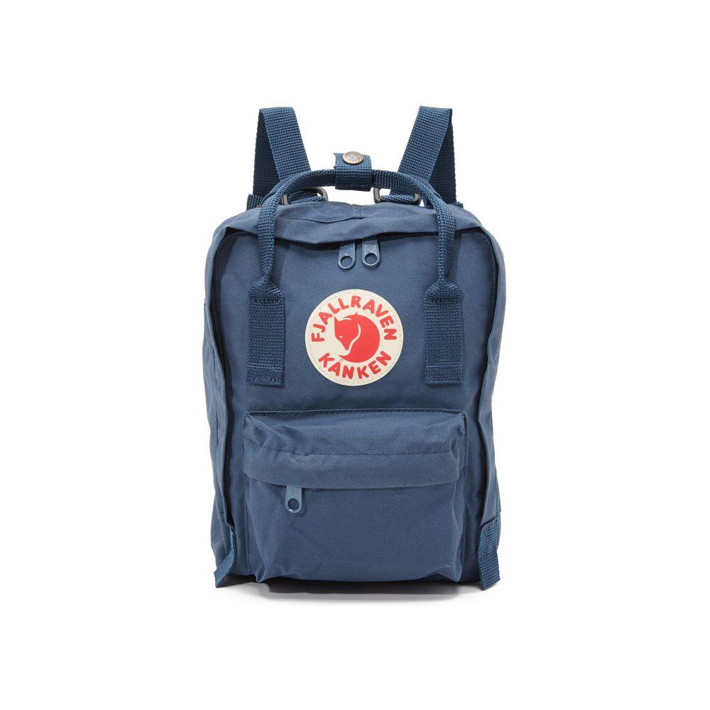 フェールラーベン Fjallraven レディース バッグ バックパック・リュック【Kanken Mini Backpack】Royal Blue