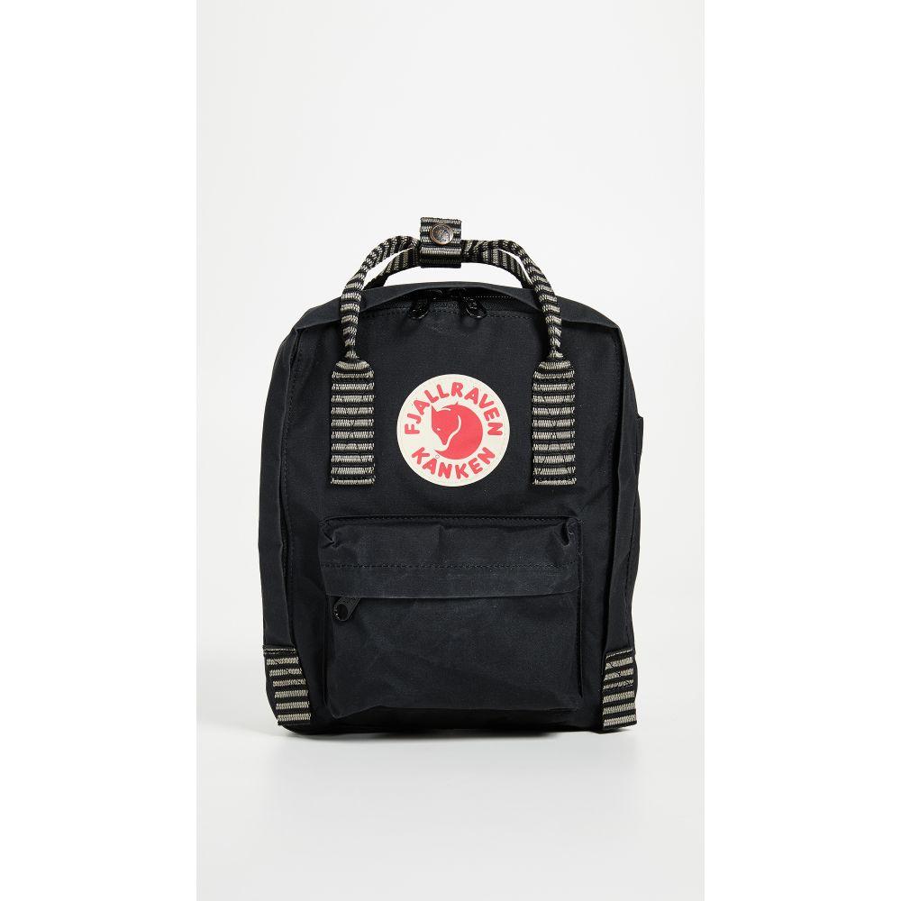 フェールラーベン Fjallraven レディース バッグ バックパック・リュック【Kanken Mini Backpack】Black/Striped