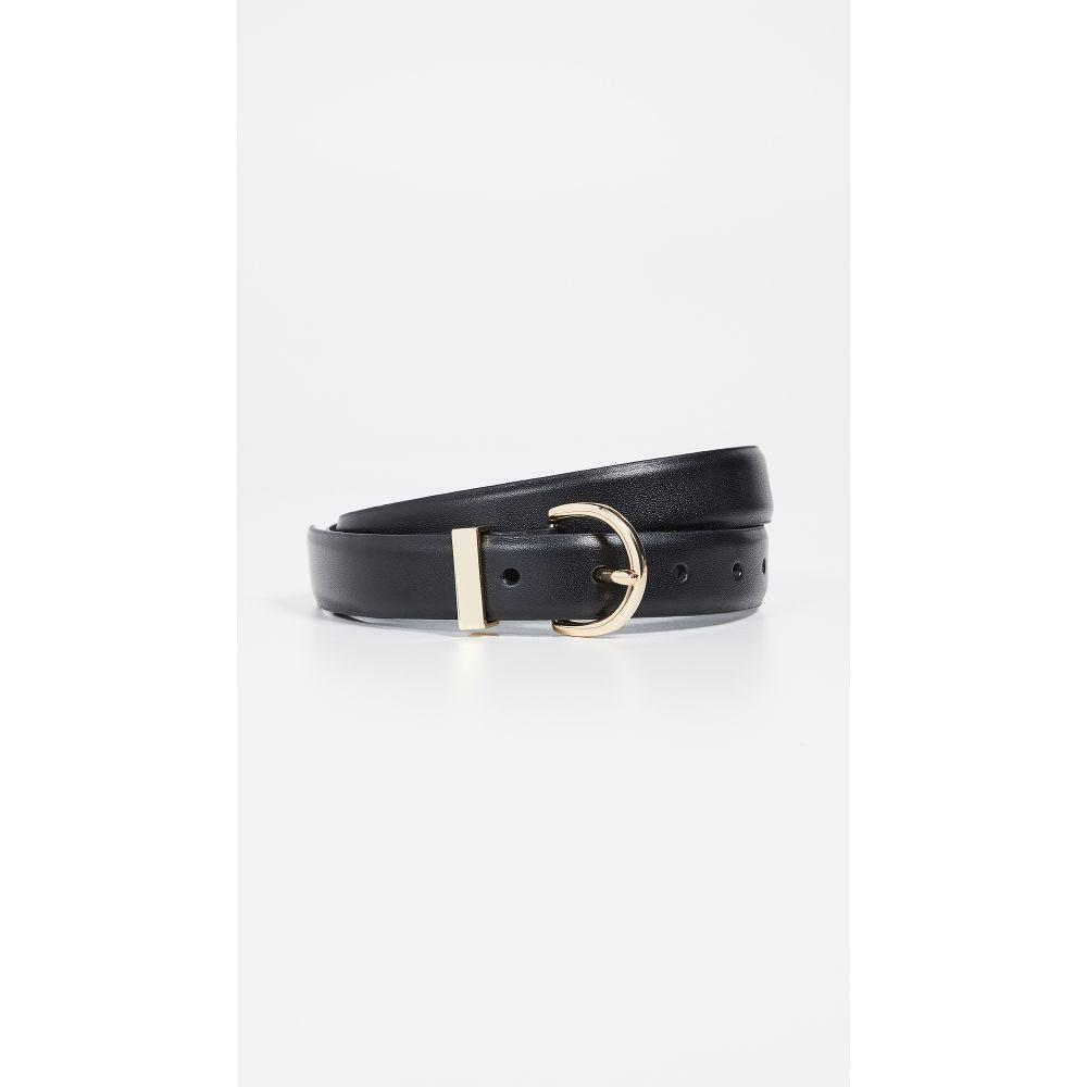 フレーム FRAME レディース ベルト【Clean U-Buckle Belt】Noir