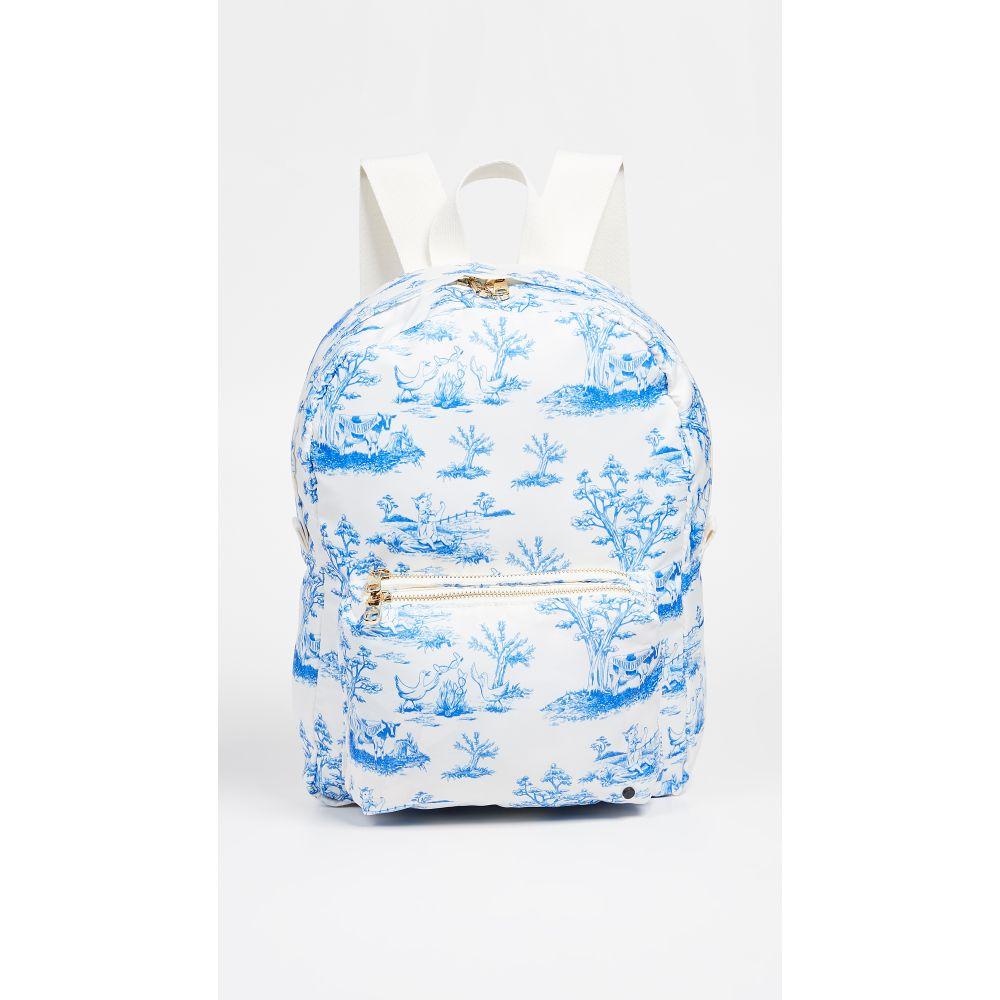 ステート STATE レディース バッグ バックパック・リュック【Feminist Toile Mini Lorimer Backpack】Blue Fem Farm