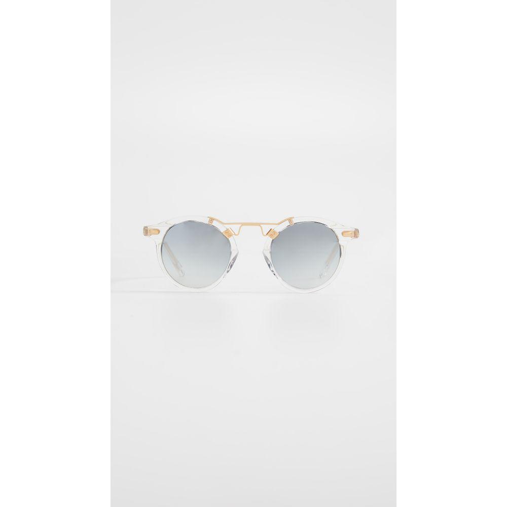 クルー Krewe レディース メガネ・サングラス【St Louis Sunglasses】Clear/Grey