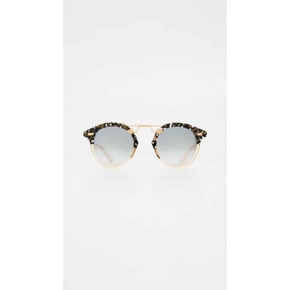 クルー Krewe レディース メガネ・サングラス【STL II Sunglasses】Plume to Champagne