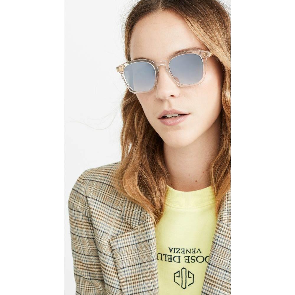 クルー Krewe レディース メガネ・サングラス【Prytana Sunglasses】Crystal Silver Gradient