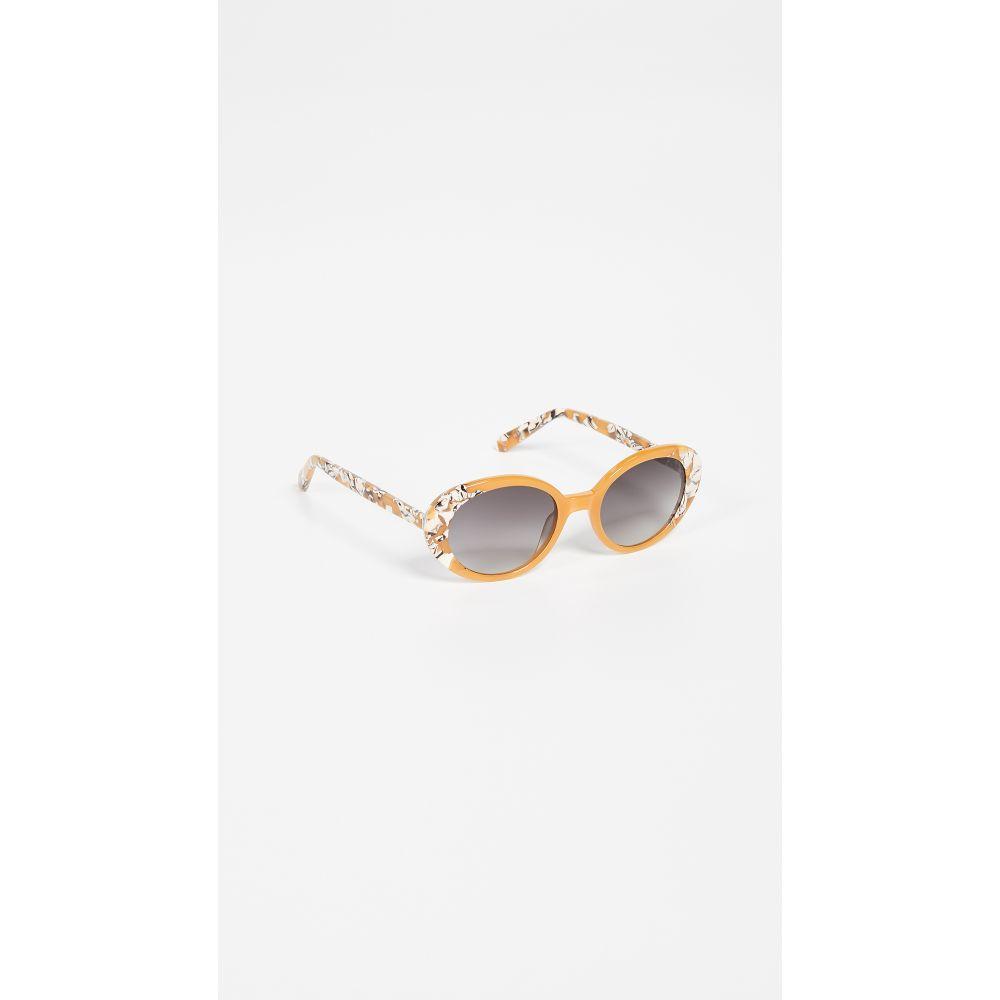 クルー Krewe レディース メガネ・サングラス【Laurel Sunglasses】Butterscotch