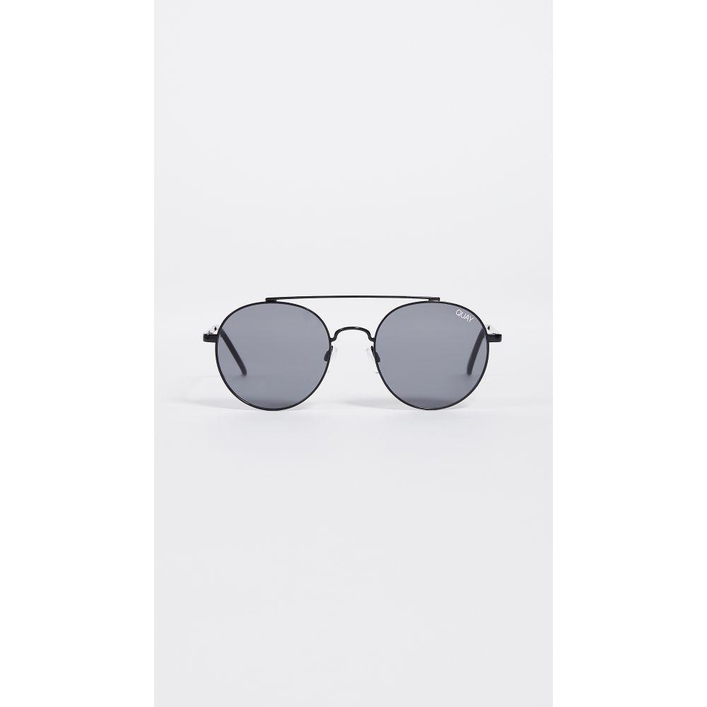 キー Quay レディース メガネ・サングラス【Outshine Sunglasses】Black/Smoke