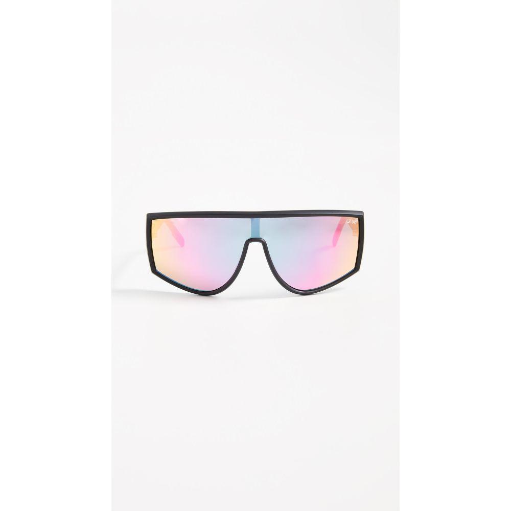 キー Quay レディース メガネ・サングラス【Cosmic Sunglasses】Black/Purple Pink