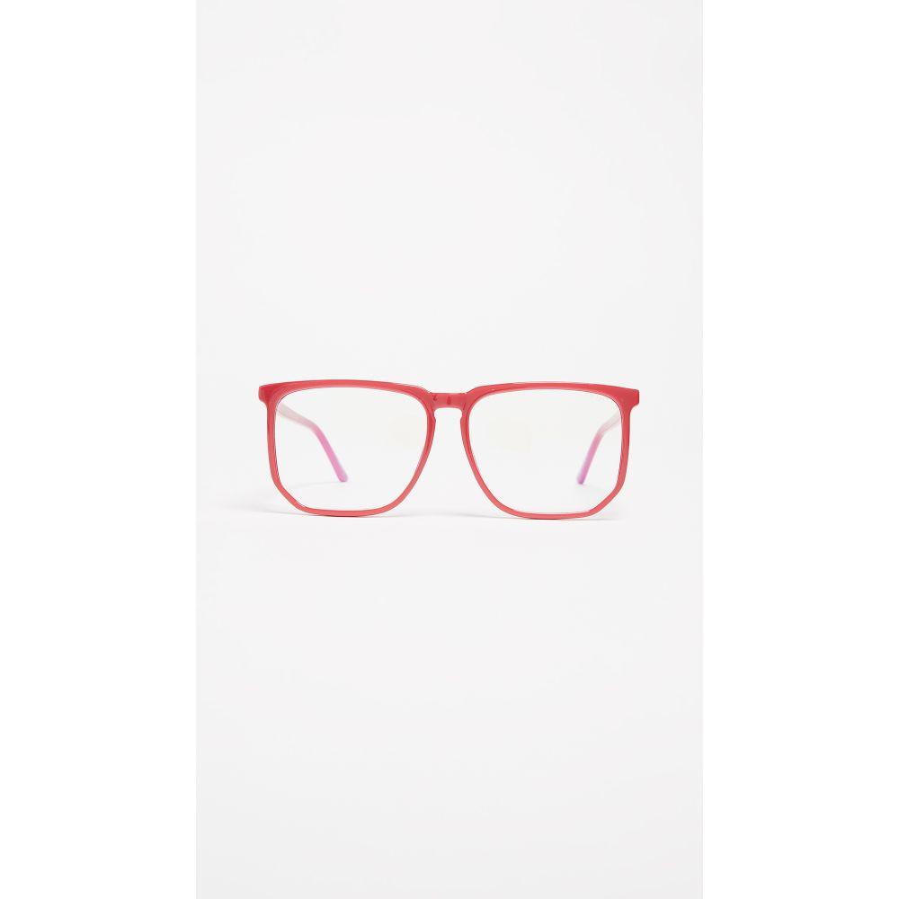 キー Quay レディース メガネ・サングラス【Stranger Glasses】Red
