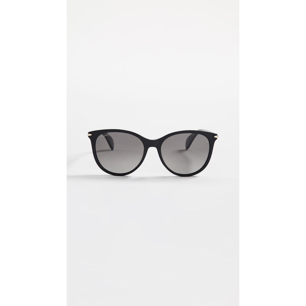 ラグ&ボーン Rag & Bone レディース メガネ・サングラス【Round Acetate Sunglasses】Black
