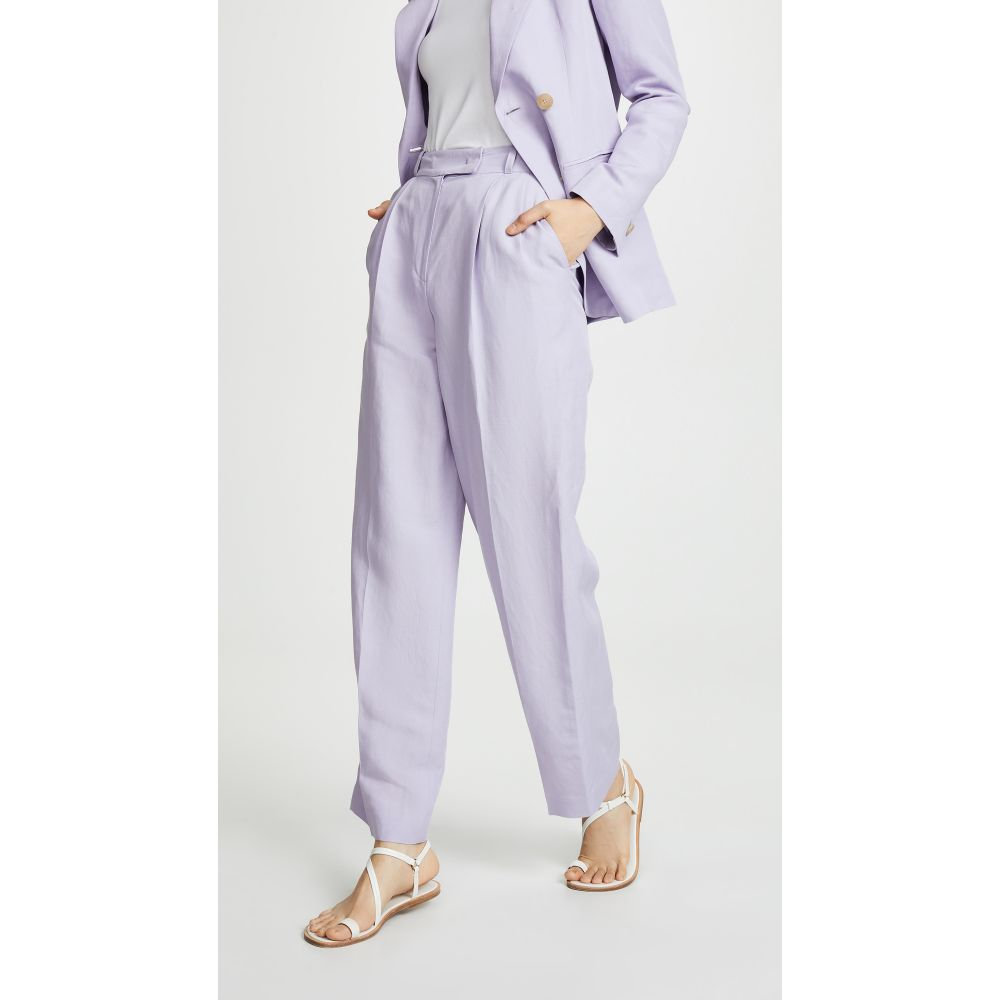 ジェニー パーク JENNY PARK レディース ボトムス・パンツ【Gianna Wide Leg Pants】Lavender