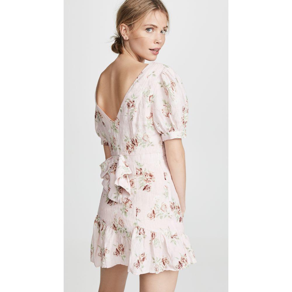 ラブシャックファンシー LOVESHACKFANCY レディース ワンピース・ドレス ワンピース【Lena Dress】Pink Canopy