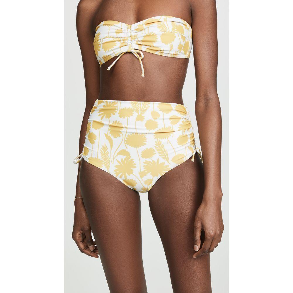 nadii レディース 水着・ビーチウェア ボトムのみ【Santa Ana Bikini Bottoms】Yellow Floral