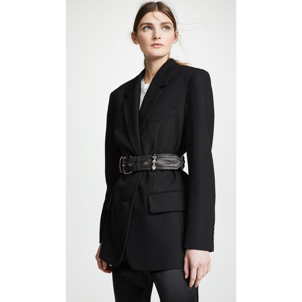 アレキサンダー ワン Alexander Wang レディース アウター スーツ・ジャケット【Blazer with Studded Belt Loops】Black