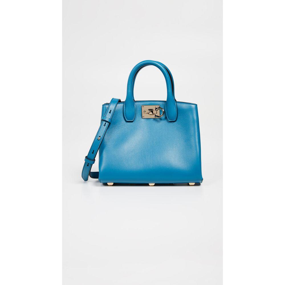 サルヴァトーレ フェラガモ Salvatore Ferragamo レディース バッグ【The Mini Studio Bag】Azure