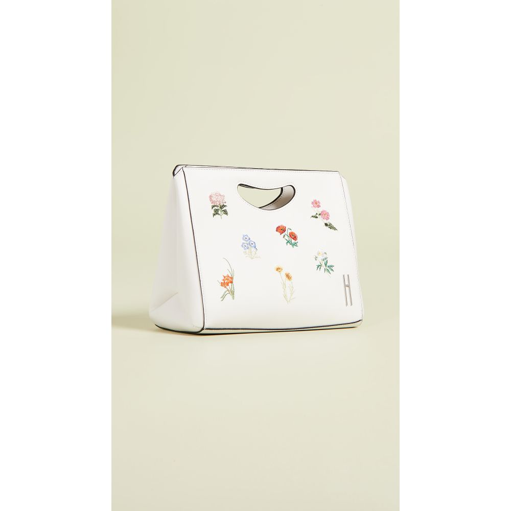ヘイワード Hayward レディース バッグ【1712 Basket Bag】White Floral Bouquet