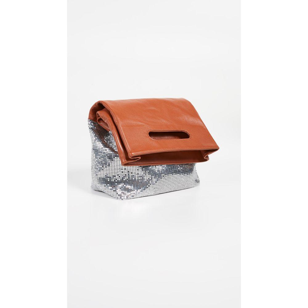 パコラバンヌ パコラバンヌ Paco Rabanne レディース Clutch】Rust/Silver バッグ クラッチバッグ レディース【Folding Clutch】Rust/Silver, CABINWONDERLAND:3ed2fd03 --- reinhekla.no