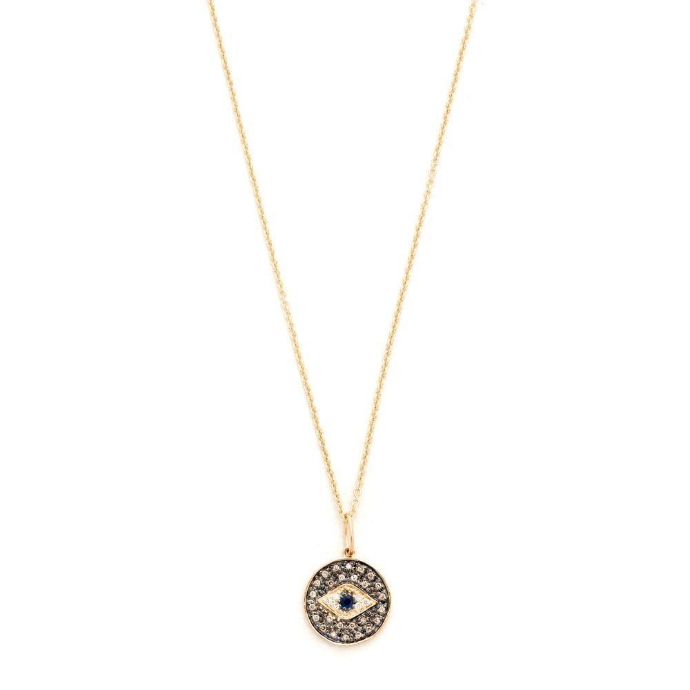 シドニーエヴァン Sydney Evan レディース ジュエリー・アクセサリー ネックレス【Small Eye Disc Necklace】Gold