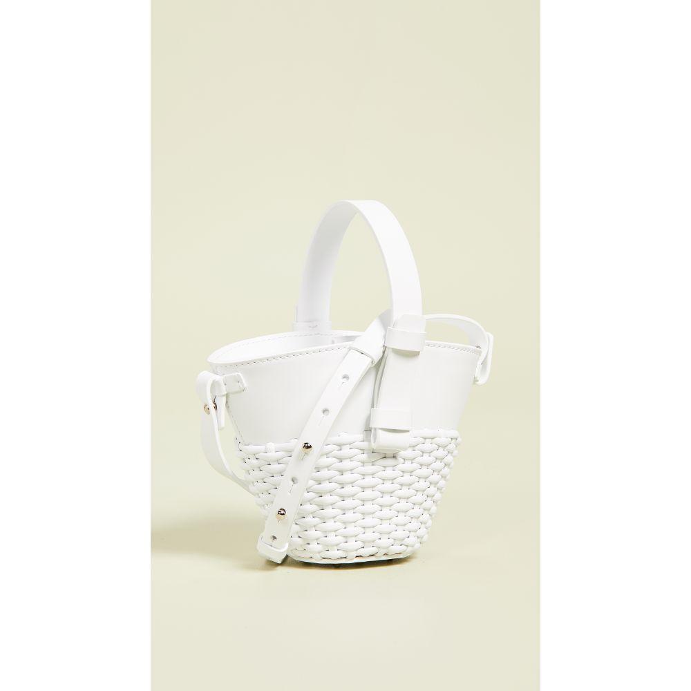 ニコ ジャンニ Nico Giani レディース バッグ【Nelia Mini Woven Bag】White