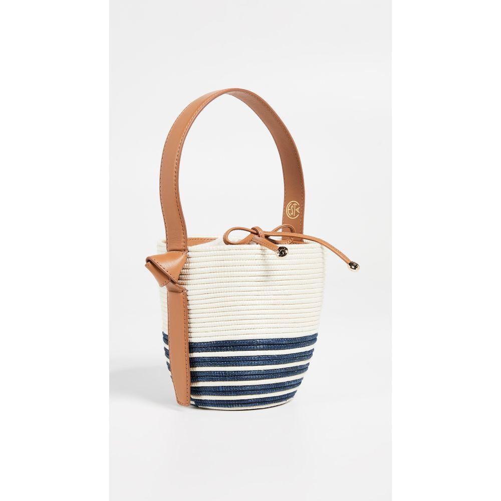 セスタ コレクティブ Cesta Collective レディース バッグ【Half Breton Lunchpail Bag】White/Navy