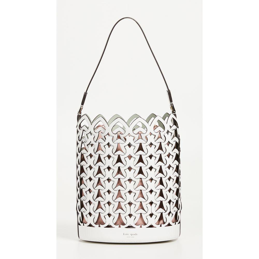 ケイト スペード Kate Spade New York レディース バッグ【Dorie Medium Bucket Bag】Optic White