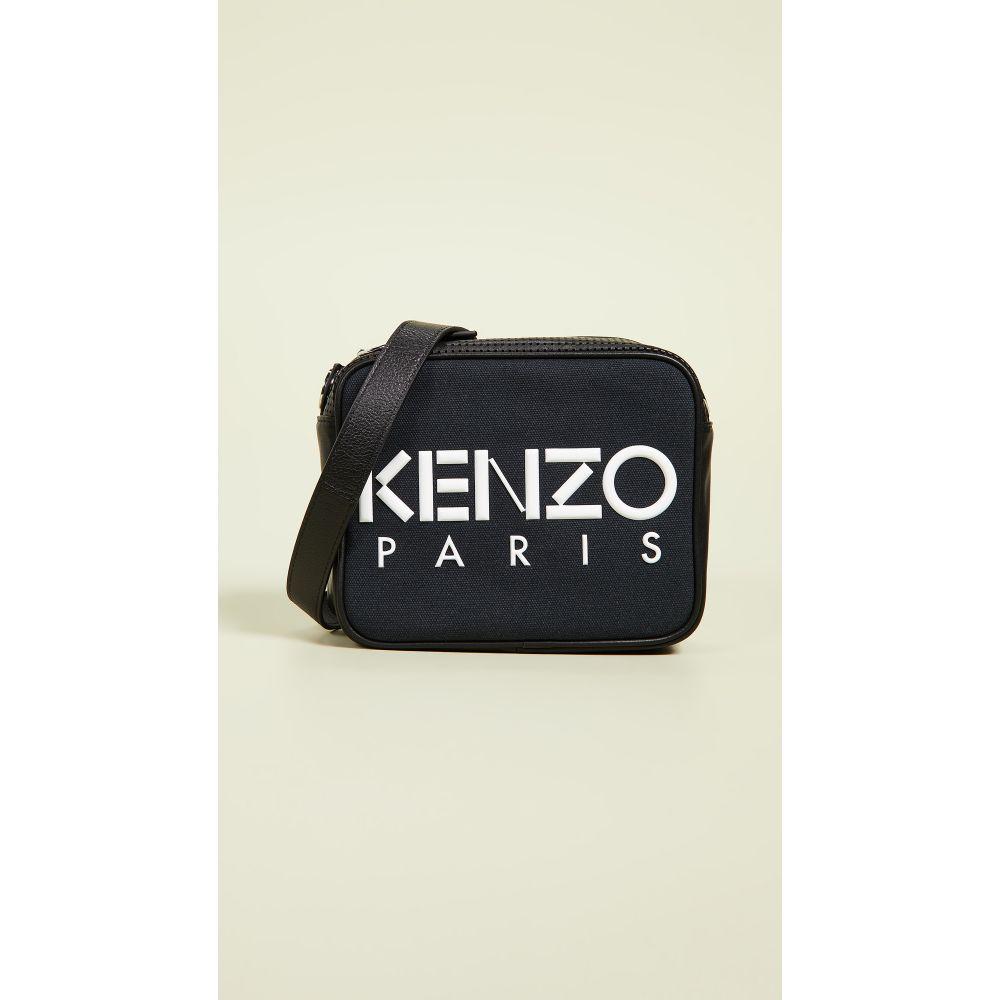 ケンゾー KENZO レディース バッグ【Logo Camera Bag】Black