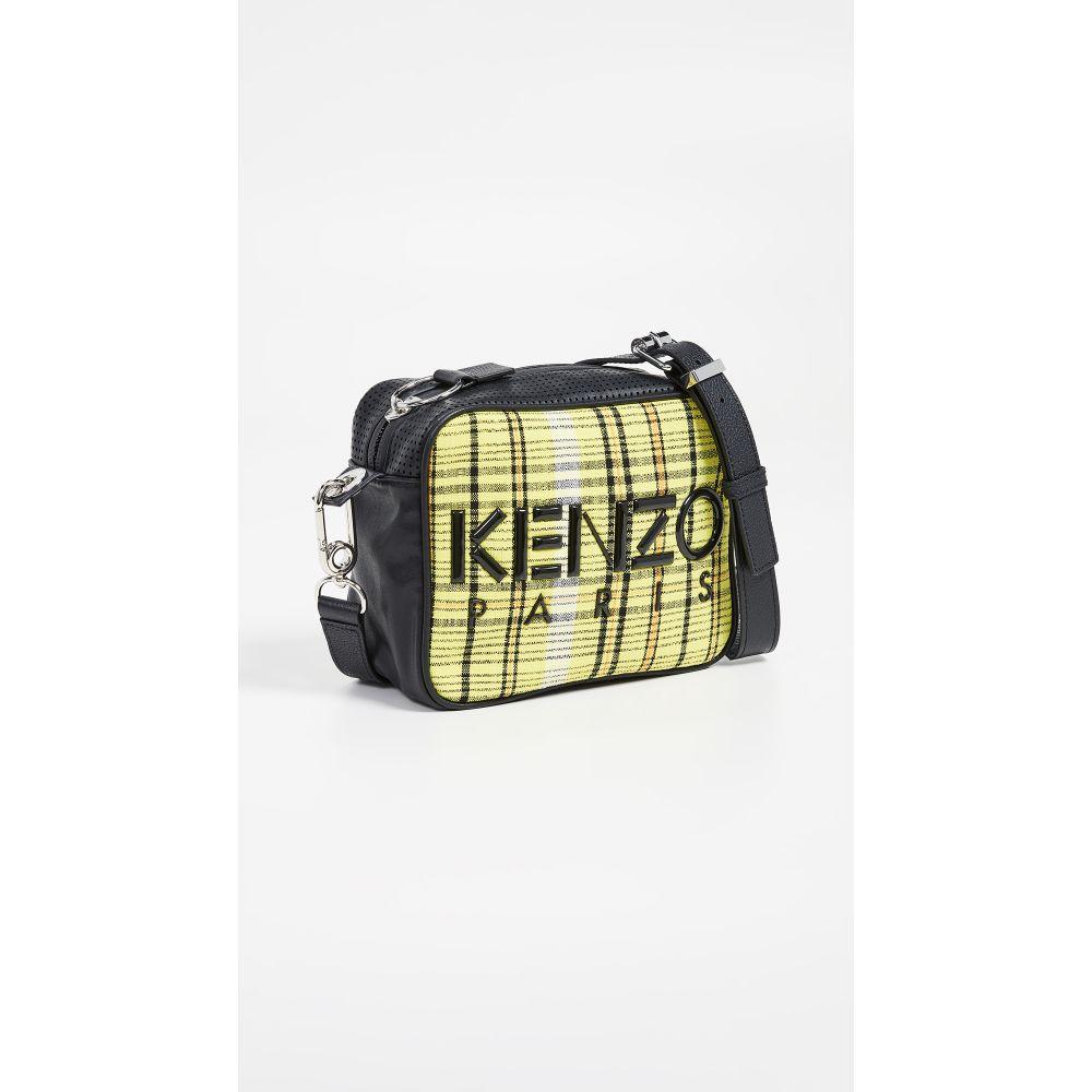 ケンゾー KENZO レディース バッグ【Checker Camera Bag】Lemon
