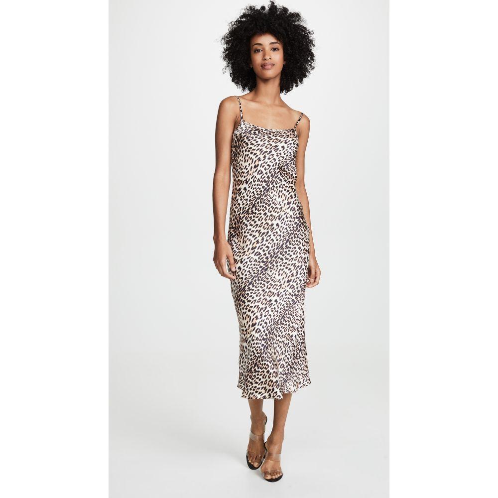 ベック アンド ブリッジ Bec & Bridge レディース ワンピース・ドレス ワンピース【Feline Midi Dress】Leopard Print
