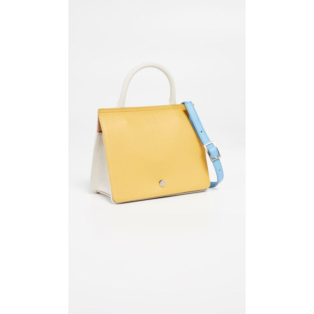オーエーディー OAD レディース バッグ バッグ ハンドバッグ レディース【Mini Prism Colorblock Colorblock Satchel】Mimosa/White/Blue, ツヅキグン:f6fb9ec7 --- reinhekla.no