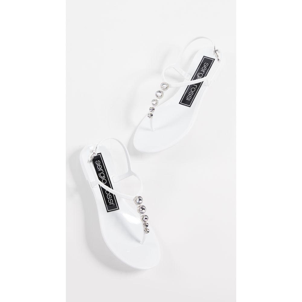 ロッシ Thong セルジオ サンダル・ミュール【Khata Rossi Sergio レディース Sandals】Bianco シューズ・靴