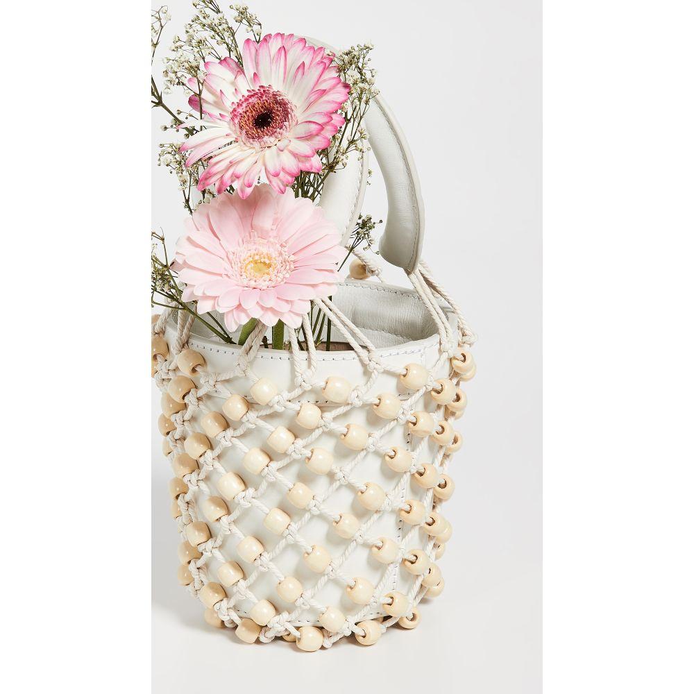 スタッド STAUD レディース バッグ バッグ ハンドバッグ【Mini Beaded Moreau レディース Bag Beaded】Soft White/Blonde, ビバコスメ:10ca5e01 --- reinhekla.no