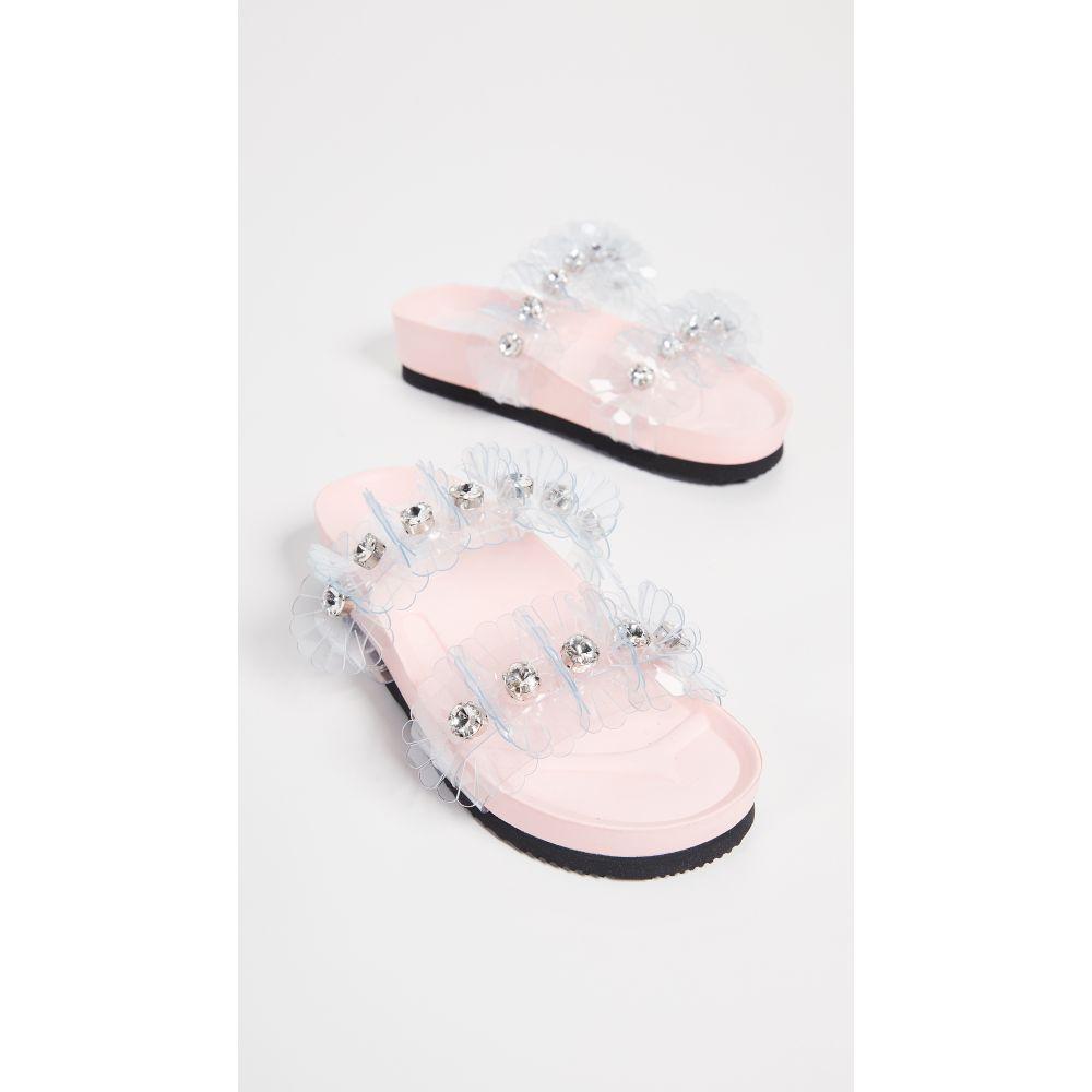 シューコンマボニー Suecomma Bonnie レディース シューズ・靴 サンダル・ミュール【Flower Sandals】White