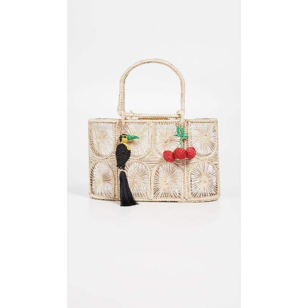 メルセデス サラザール Mercedes Salazar レディース バッグ トートバッグ【Woven Tote Bag】Natural